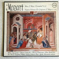 MOZART Mass C Major Horenstein Lipp CLASSICAL 1957 VOX RVG LP Vinyl disc Record