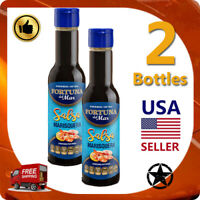 2 Bottles of Salsa Marisquera Fortuna Del Mar- Lapa Style – Original 4oz (120mL)
