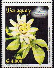 PARAGUAY 2001. MERCOSUR - Flore - Fleur de la Passion (1)