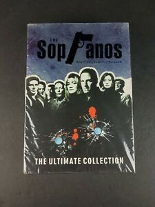 The Sopranos Ultimate Collection DVD Complete 1 - 6 Seasons Region 1 2 3 HBO NEW