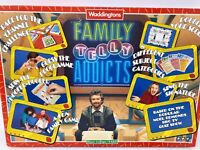 Telly Addicts Board Game - Vintage 1988 TV Quiz Show Family Game - Complete!