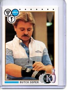 1990 PBA BOWLING CARD #63 BUTCH SOPER