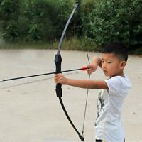 15lbs Children Kids Archery Training Recurve Bow Right Left Hand Shooting Bow!!