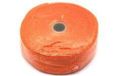 """Fiberglas Heat Wrap Schutz Band, 2"""" Breite 1.5MM Länge 10M 500C orange"""