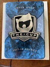 2017-18 UPPER DECK THE CUP HOCKEY EMPTY METAL TIN