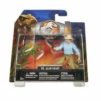 Jurassic World DR. ALAN GRANT Action Figure Play Set Mattel Sealed