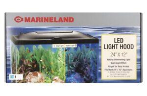 "Marineland Aquarium Hood, 24"" x 12"" Replacement Hood Only"