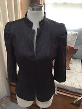 NWT Antonio Melani Graphite Gray Shimmer Blazer Jacket 4 199$