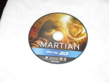3D Movie Blu Ray THE MARTIAN MATT DAMON DISC ONLY */*