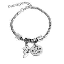 Fashion Best Friends Love Heart Shaped Bracelet Stitching Bracelet Couple Chain
