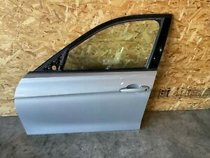 BMW F30 F31 FRONT LEFT DRIVER SIDE DOOR SHELL GLACIER SILVER METALLIC OEM 45MK