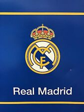 "New Licensed Real Madrid Luxury Plush Queen Size Blanket 79""X94"""