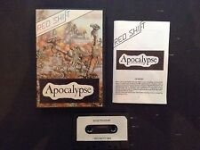Apocalypse by Red Shift - ZX Spectrum cassette