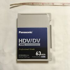 New Panasonic AY-HDVM63AMQ Advanced Master Quality DV/HD Tape 63 min  MiniDV HDV