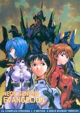 Neon Genesis Evangelion 26 Complete Episodes  + 2 Movies DVD US Shipping!