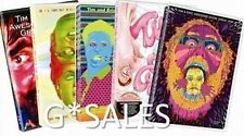Tim and Eric Awesome Show, Great Job! Complete Series Season 1-5 ~ NEW DVD SETS