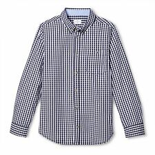Vineyard Vines Target Boys Long Sleeve Woven Gingham Shirt Navy Button Down NEW