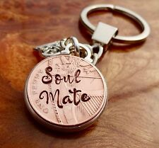 Soul mate gifts copper penny Wedding Anniversary Personalised Copper Gift Penny