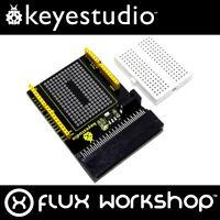 Keyestudio Prototype Shield for BBC micro:bit 170 Breadboard Flux Workshop