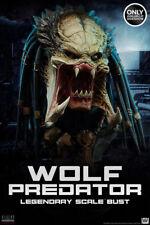 SIDESHOW EXCLUSIVE WOLF PREDATOR SCALE BUST: ALIEN VS PREDATOR