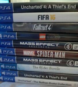 PS4 GAMES PLAYSTATION 4