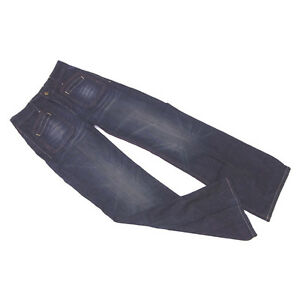 Replay Jeans denim Navy Woman Authentic Used C3018