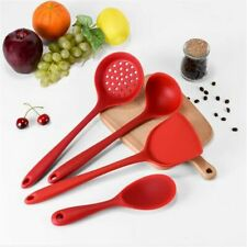 Silicone Rice Spoon Sets 4Pcs Spatula Scoop Cooking Tools Kitchen Accessories