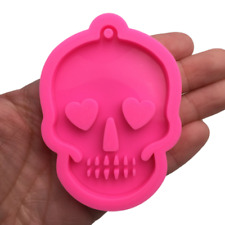 Skull Silicone Mold for Epoxy Resin Crafts