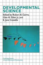 Developmental Science (Cambridge Studies in Social and Emotional Development) b