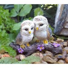 Miniature Dollhouse Fairy Garden - Cozy Owls - Accessories