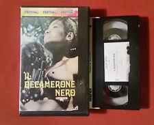 Il Decamerone Nero - (1972) - VHS Ed.Playtime - RARO
