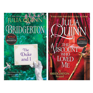 Bridgerton Series- The Duke and I & The Viscount Who Loved Me by Julia Quinn