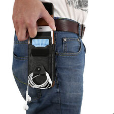 Leather Belt Clip Case Holster Pouch Card Slot Case Cover for iphone XS 8 7 plus