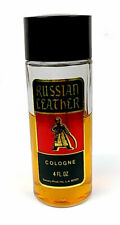 Vintage Saxony Russian Leather Cologne 4 Fl Oz No Box