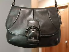 WOW! Authentic Coach BLACK Leather Small Crossbody Handbag F45648