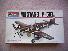 Monogram 1:48 Mustang P-51B Kit 6806 - Complete and Unassembled