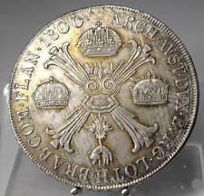 PRACHTSTÜCK!! Kronentaler 1800 M, Mailand, Brabant, Franz II., Silber