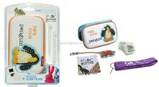 NEW Soft Case Pak Penguin FAB Animals for Nintendo DS Light Dsi System & Games