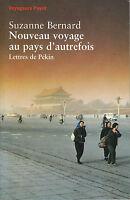 Livre nouveau voyage au pays d'autrefois Suzanne Bernard book