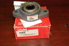 "Link-Belt By40946, 11/16"" hex 2-bolt flange bearing New in Box"
