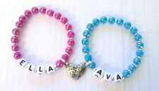"Personalised ""Best Friends"" bracelets x2(many colours to choose from)."