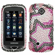 Twin Stars Bling Hard Case Cover Samsung Reality U820