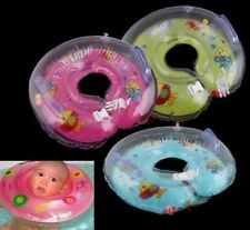 New Baby Aids Infant Swimming Neck Float Ring Safety Adjustable Inflatable