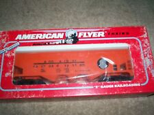 American Flyer #52094 NASG ANN ARBOR three-bay covered hopper car