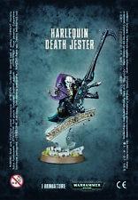 40k Eldar Harlequin Death Jester Warhammer