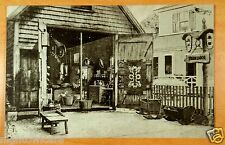 THE BARN Gifts Textiles Antiques Rockport Massachusetts MA Ad Postcard 1941