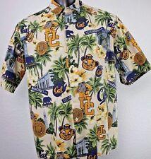 Reyn Spooner UC UCB Cal Berkeley University Golden Bears NCAA Hawaiian Shirt XL