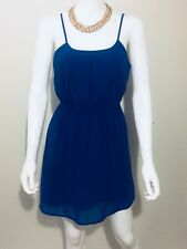 Forever 21 Womens Dress Size Small Blue Sleeveless Party Cocktail