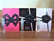 3 x Viktor & Rolf Ladies Sample Flowerbomb, Midnight & Bon Bon  1.2ml Vial Spray