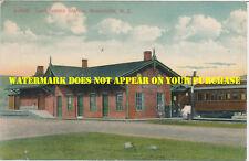 DL&W Branchville NJ Station DB PM August 6, 1909